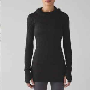 Lululemon Black Rest Less Hoodie Size 8